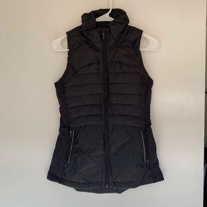 Lululemon Down For It All Vest Black Size 4